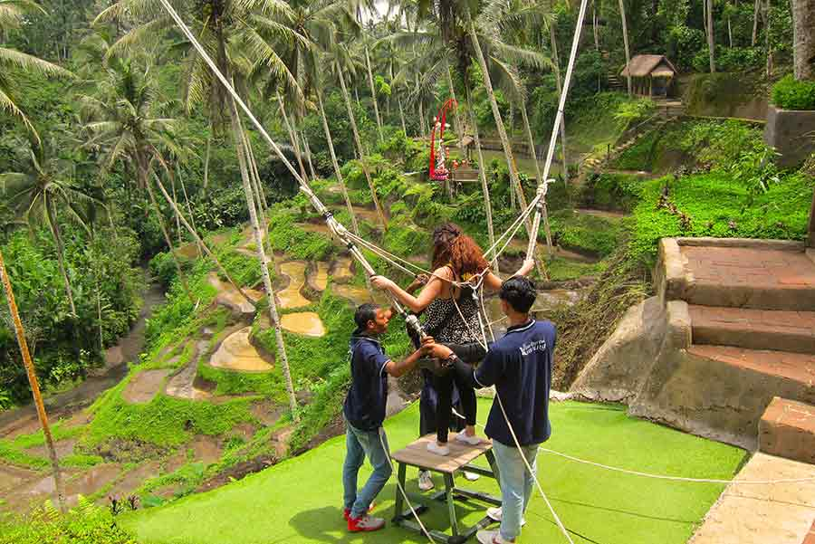 Bali S Jungle Swings Will Give You A Natural High